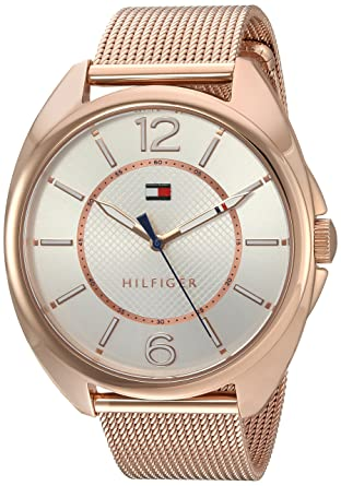 Tommy Hilfiger Womens Quartz Gold Watch(Model: 1781697)