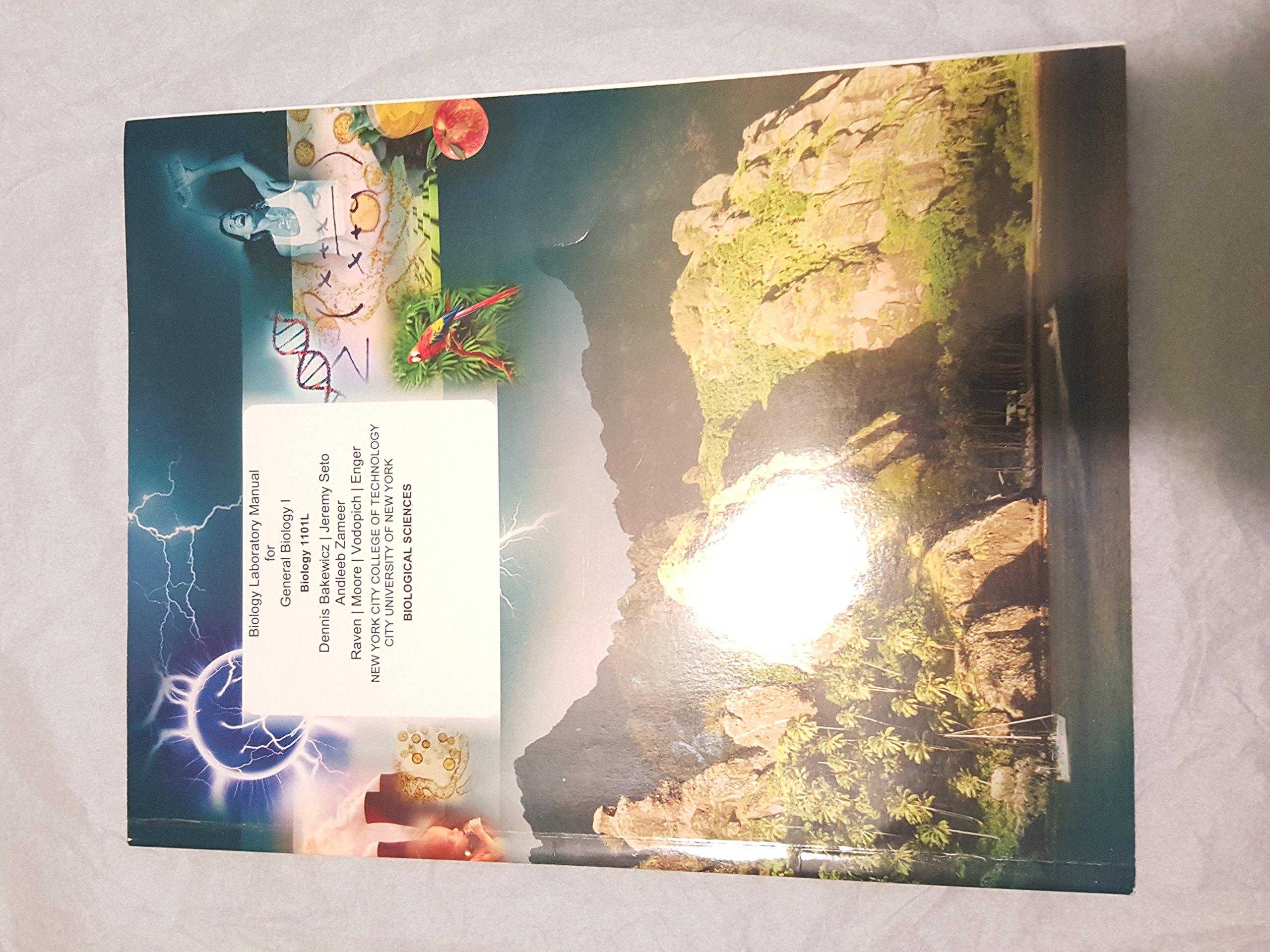 Biology Laboratory Manual for General Biology I: Dennis Bakewicz, Jeremy  Seto, Andleeb Zameer: 9781121818545: Amazon.com: Books