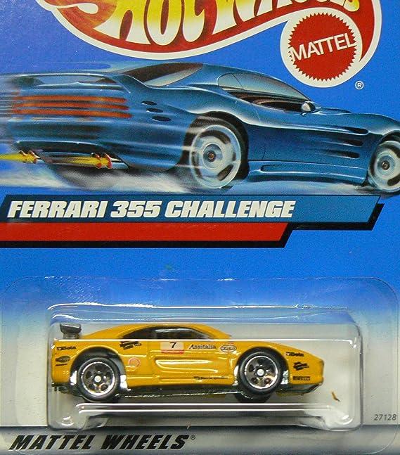 Hot Wheels #2000-162 Ferrari 355 Challenge Collectible Collector Car Mattel 1:64 Scale