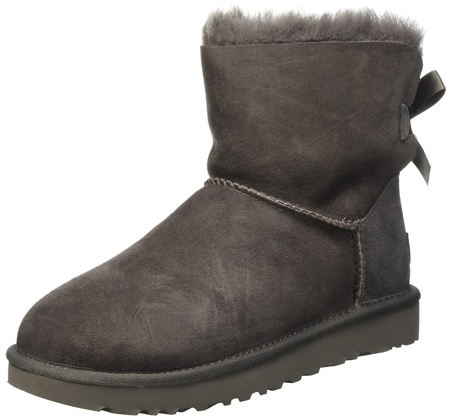 UGG Australia montantes baskets Mini Bailey Bow, Bailey baskets montantes femme Gris (Grigio) 03290f8 - shopssong.space
