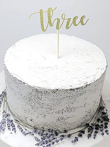 Image Unavailable Not Available For Color Third Birthday Cake Topper