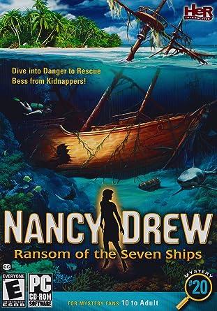 nancy drew ransom of the seven ships octopus