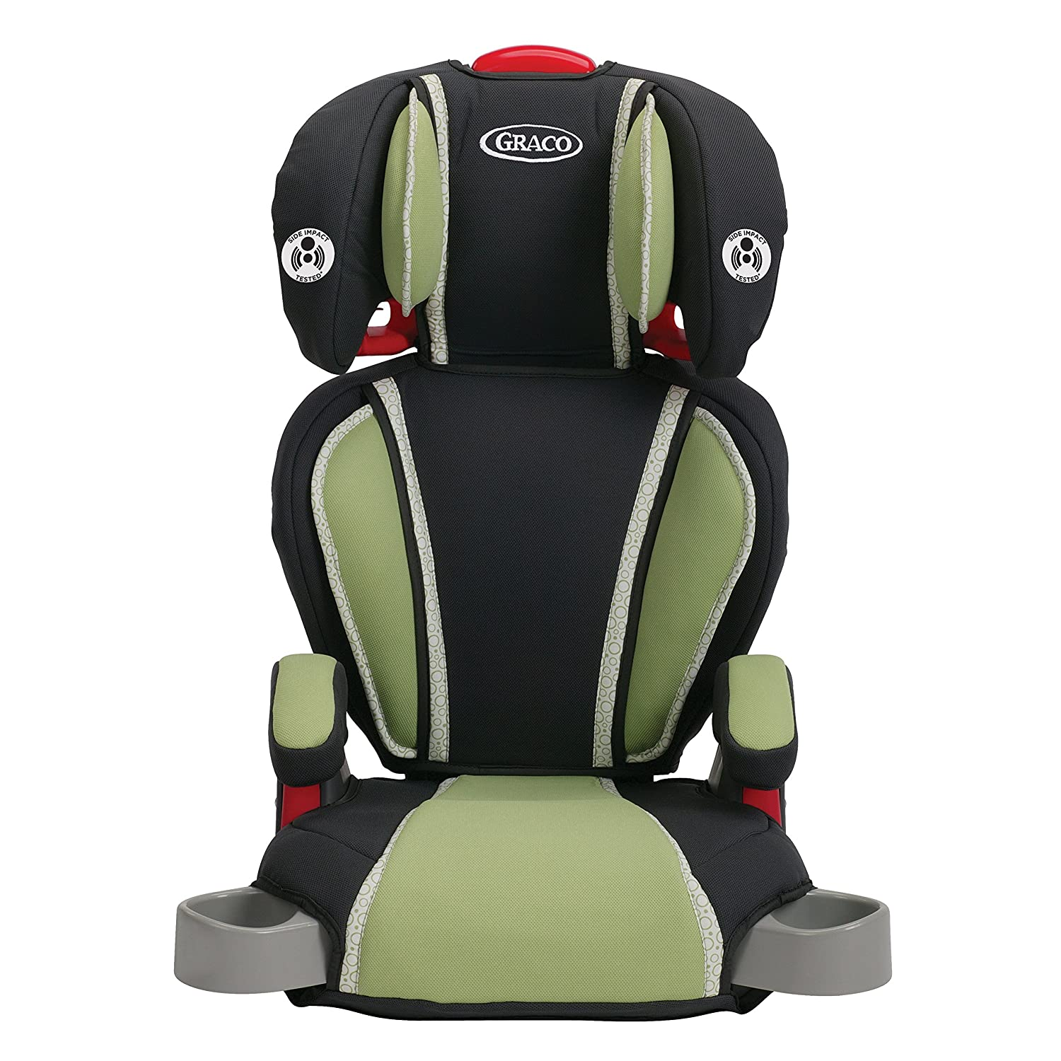 amazon com graco highback turbobooster car seat go green baby rh amazon com Graco Car Seats graco turbobooster lx owners manual