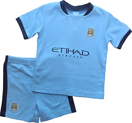 wholesale dealer 07a83 c90c9 Amazon.com: Brecrest Manchester City Baby (Infant) T-Shirt ...
