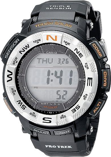 CASIO(カシオ) PRO TREK プロトレック PRG-260-1DR プロトレック ソーラー海外モデル トリプルセンサー ブラック メンズ 腕時計 (逆輸入品)