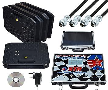 Amazon.es: STR cornerweight electrónico escala sistema para Motorsport/oval/circuito de carreras, 2000 kg Max peso
