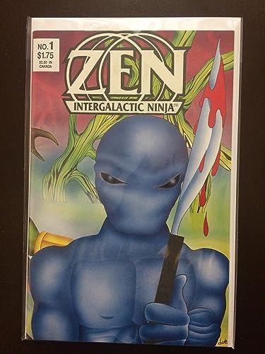 Zen The Intergalactic Ninja #1 1987 First Printing Original ...