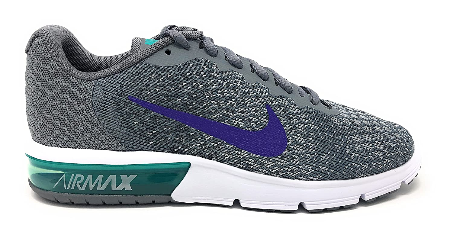 NIKE Men's Air Max Sequent 2 Running Shoe B079SHL5JJ 10 B(M) US|Cool Grey/Court Purple/Dark Grey