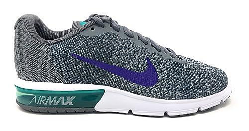 01162f62c52 NIKE Women s Air Max Sequent 2 Running Shoe Cool Grey Court Purple Dark Grey