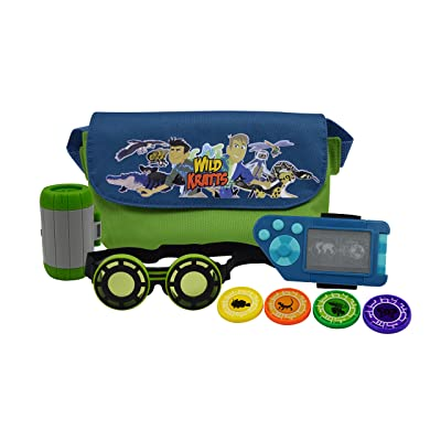 Wild Kratts Adventure Set - Includes Goggles, Creature Pod, Power Discs and More - For Halloween Costumes and Dress Up Play - 3+: Toys & Games