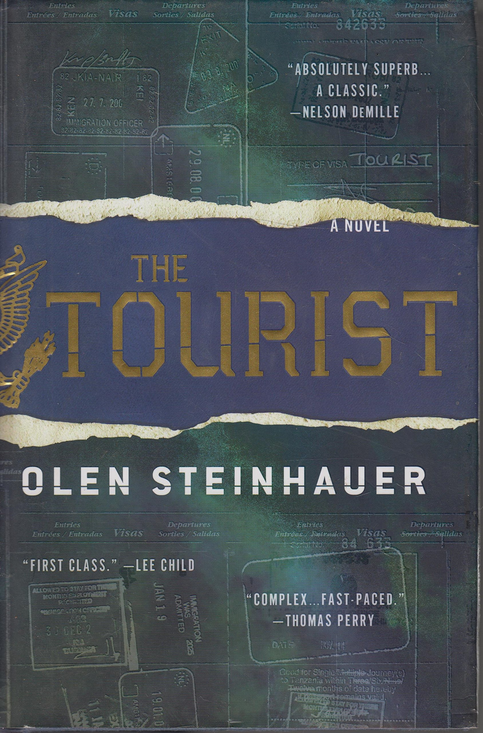 Read Online The Tourist: Library Edition pdf