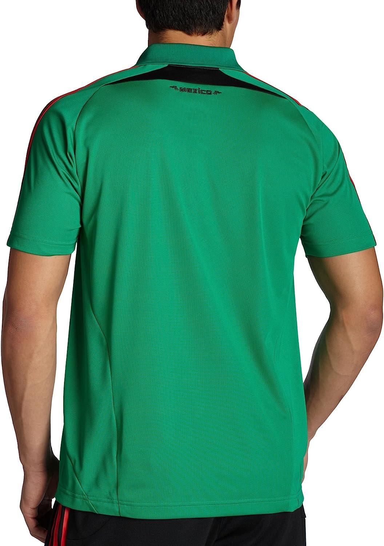 adidas México fútbol Polo Camisa, Hombre, X, Verde: Amazon.es ...