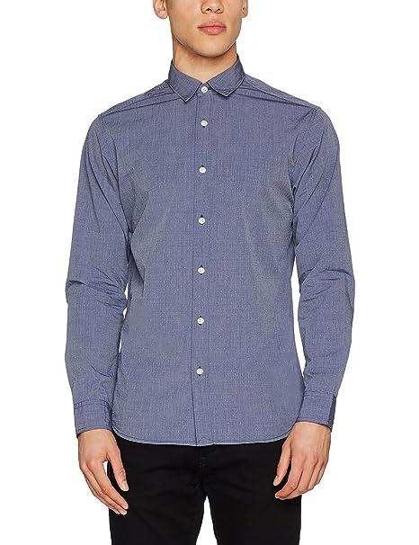 SELECTED HOMME Shhonemoonie Shirt LS Noos, Camisa para Hombre
