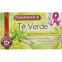 Pompadour Té Verde con Lemongrass y Verbena