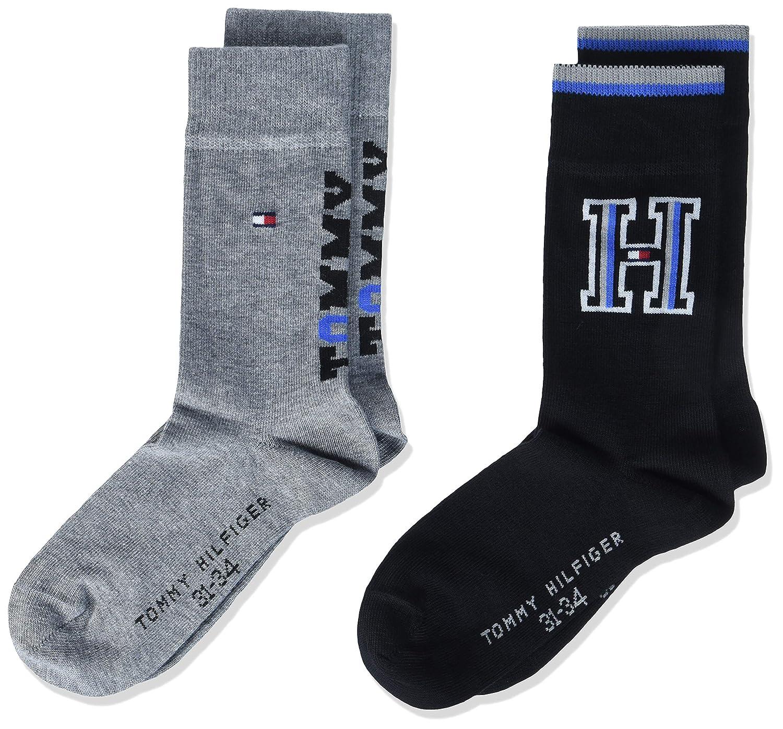 Tommy Hilfiger Jungen Socken, 2er Pack 484003001