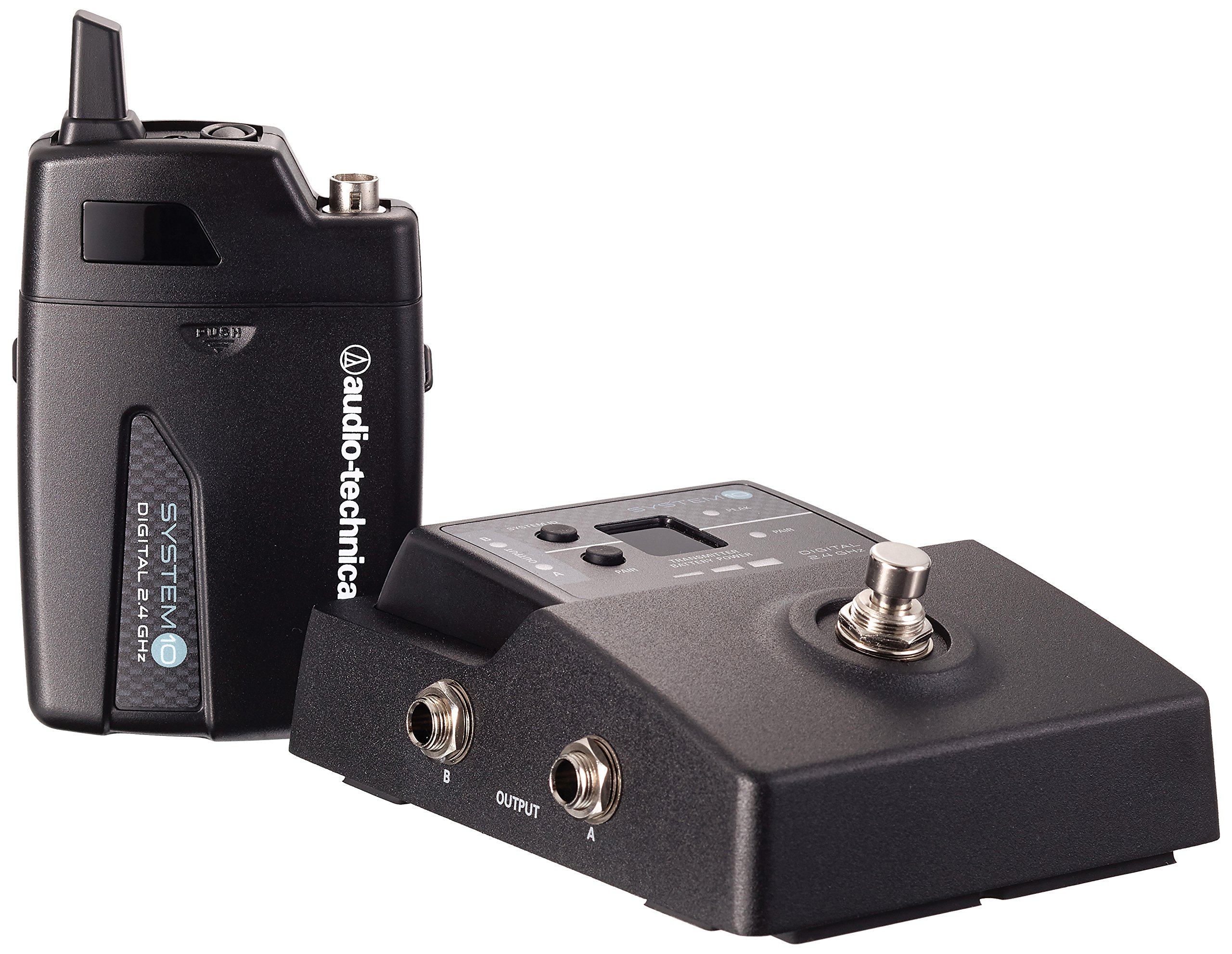 Audio-Technica System 10 ATW-1501 Stompbox Digital Guitar Wireless System by Audio-Technica