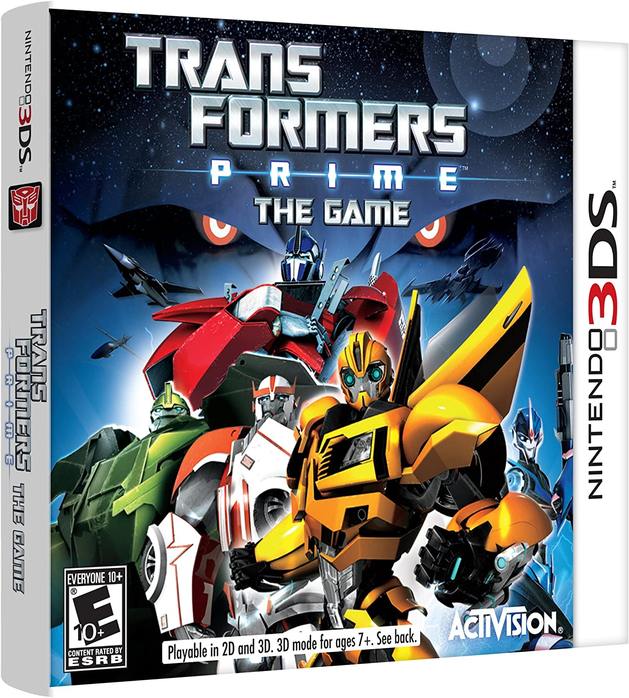 Amazon com: Transformers Prime: The Game - Nintendo DS