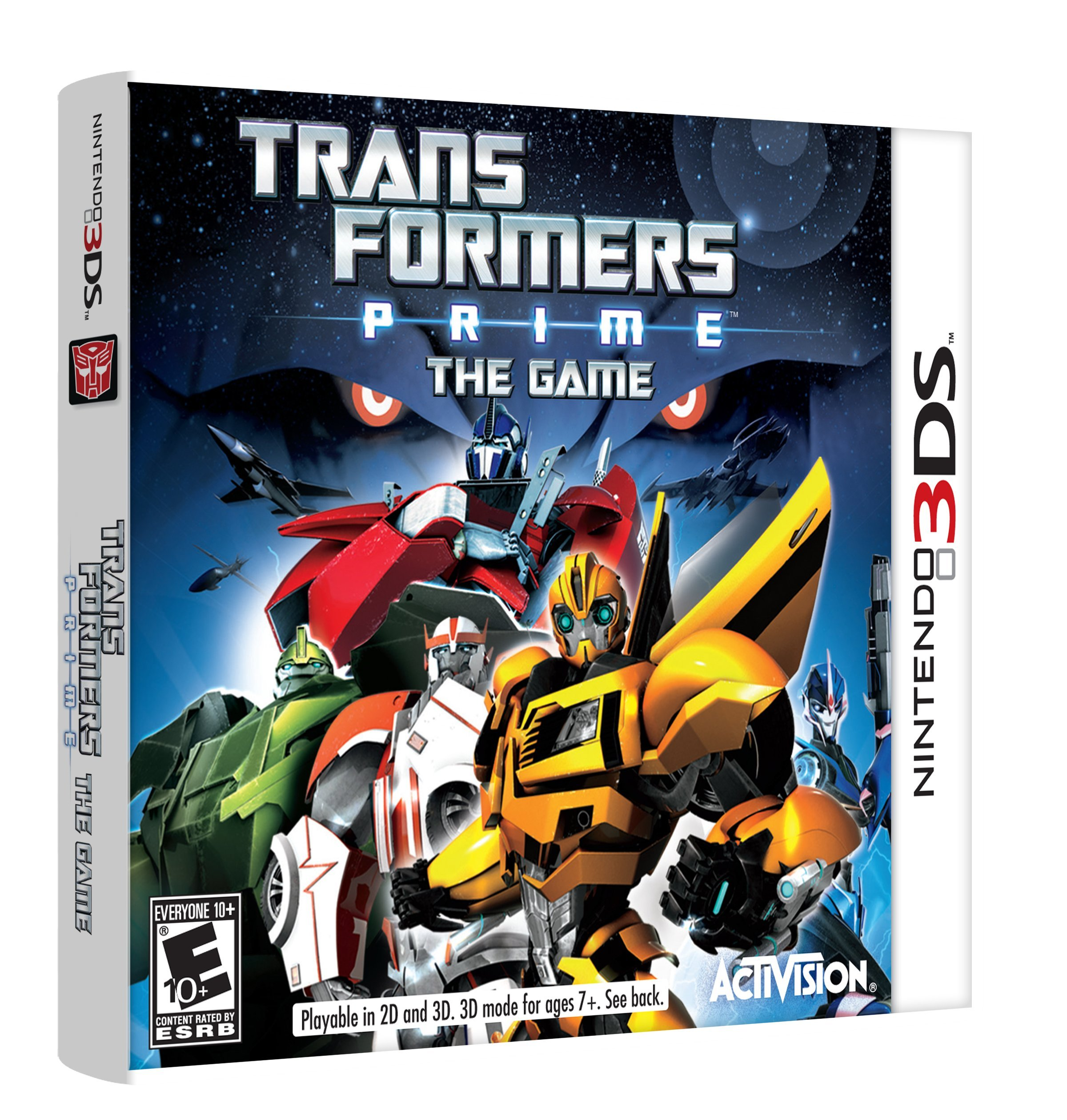 Transformers Prime: The Game - Nintendo 3DS