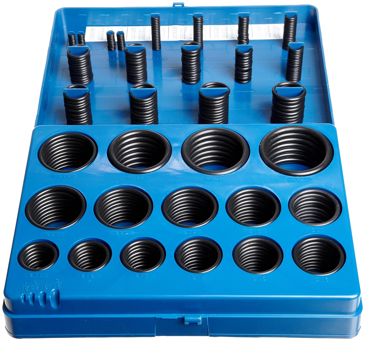 Sterling Seal and Supply 445 Buna//NBR Nitrile O-Ring 70A Durometer Black 6 Pack