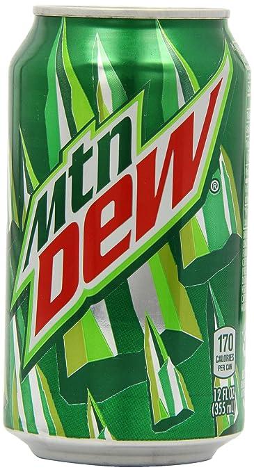 amazon com mountain dew soda soft drinks grocery gourmet food