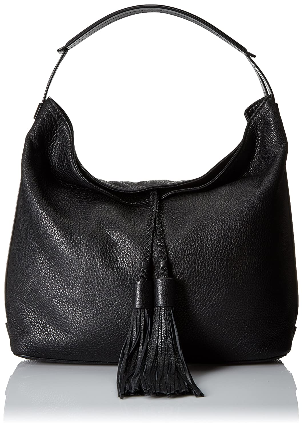 Rebecca Minkoff Women's Large Isobell Leather Bag Top-Handle Hobo B016A55T4A ブラック