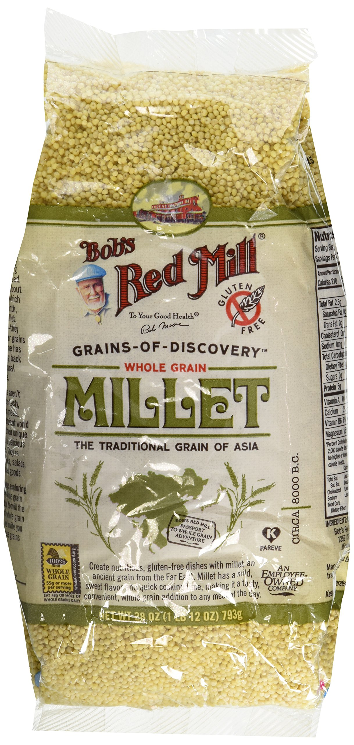 Bob's Red Mill Millet, 28oz