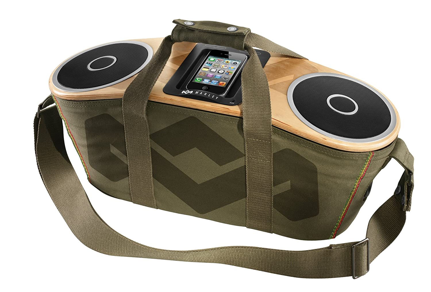 Superb Amazon.com: The House Of Marley Bag Of Rhythm Portable Audio System: Home  Audio U0026 Theater