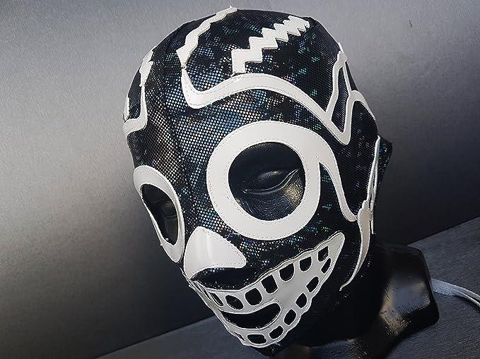 Calavera muerte máscara de lucha libre Luchador máscara disfraz de ...