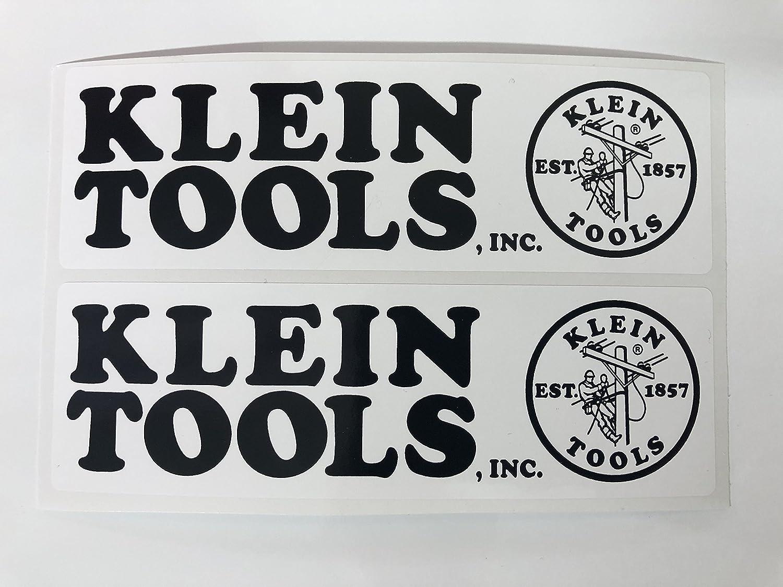 2 Klein Tools & Logo Decals by SBDdecals.com