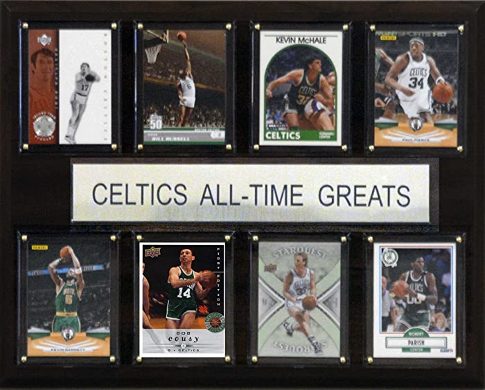 NBA Boston Celtics All-Time Greats Plaque