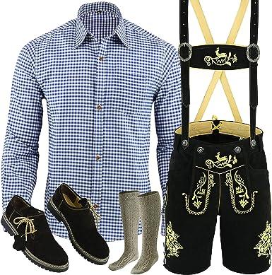Pantalones cortos de piel para hombre, tallas 46-60, 5 piezas ...