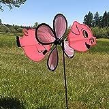 In the Breeze Baby Pig Garden Spinner