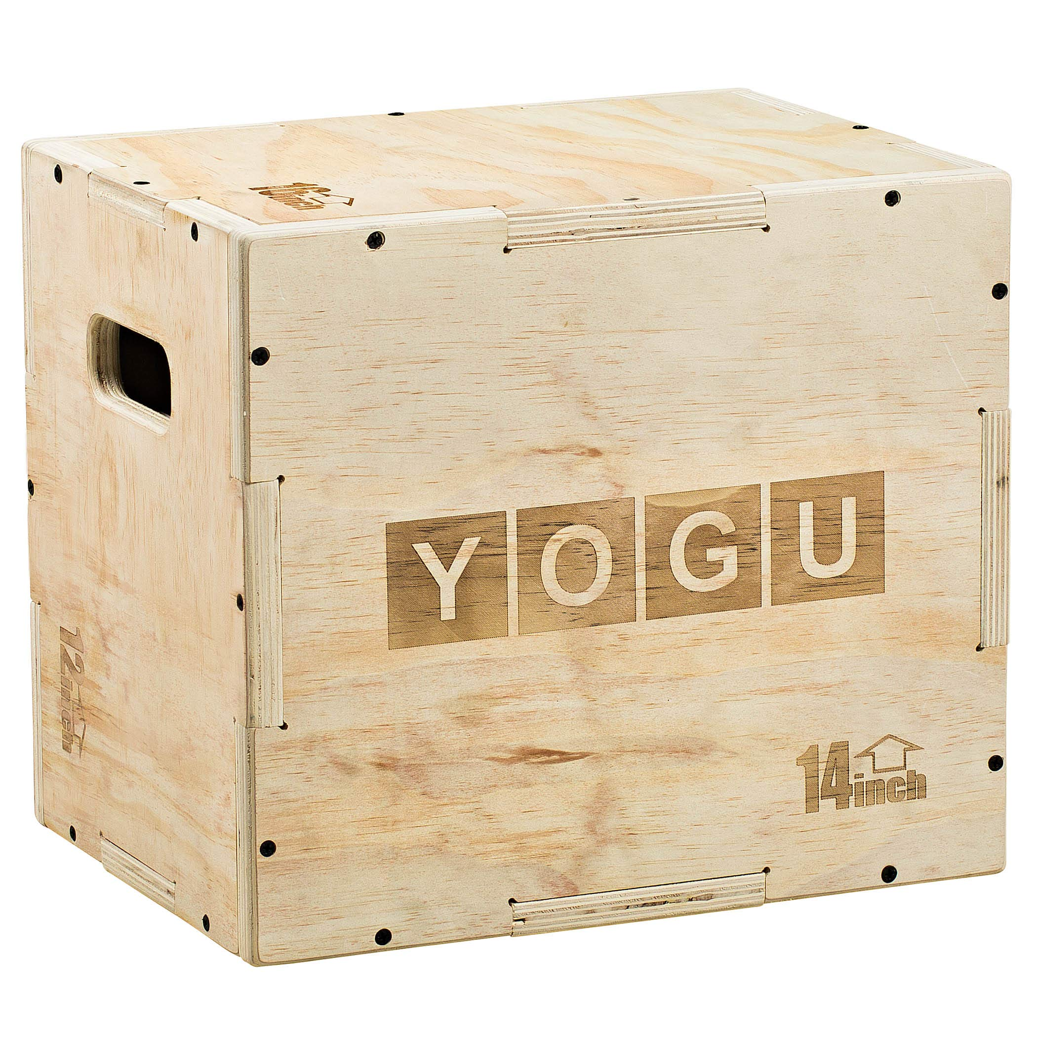 YOGU 3 in 1 Wood Plyometric Box (16/14/12)