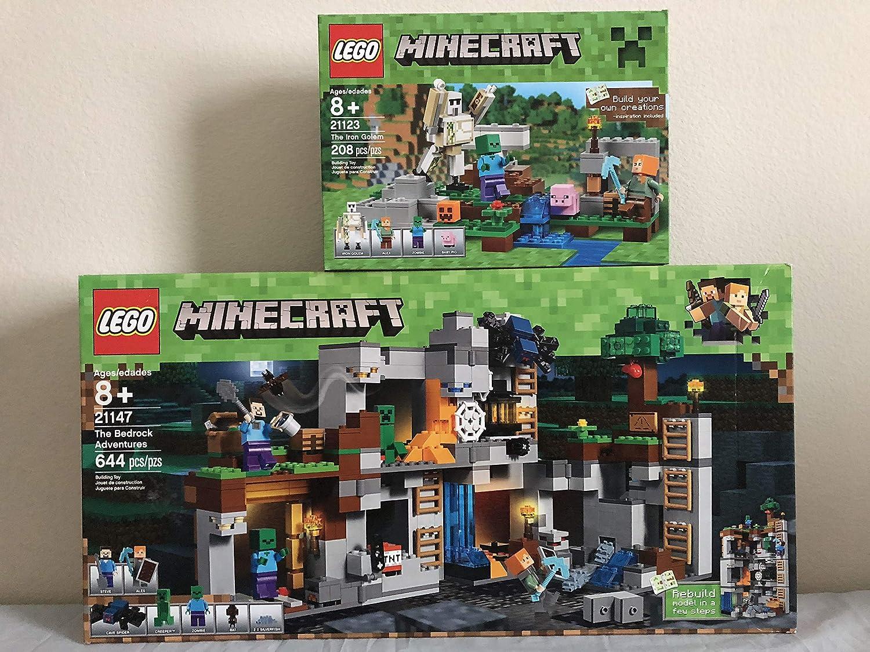 LEGO Minecraft The Bedrock Adventures & LEGO Minecraft The Iron Golem