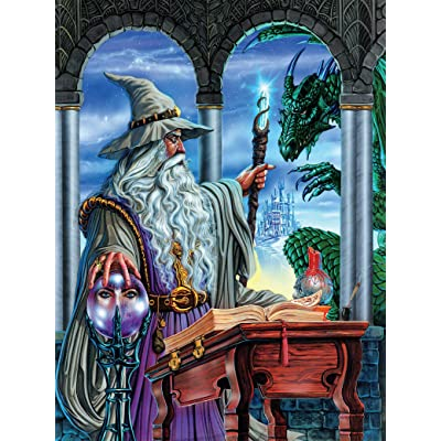 Fantasy Wizards Emissary Puzzle - 750Piece: Toys & Games [5Bkhe0704983]