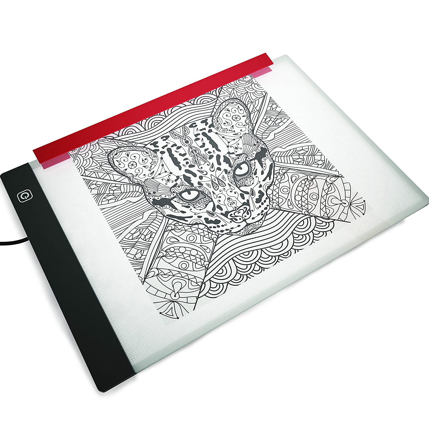 Light Box for Drawing and Tracing by Illuminati - Ultra Thin Acrylic Led  Light Table - Comes with Filter to Prevent Eye Fatigue Plus Tracing Paper  and