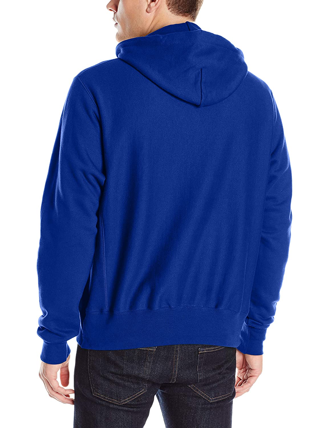 Champion LIFE Mens Reverse Weave Script Pullover Hoodie