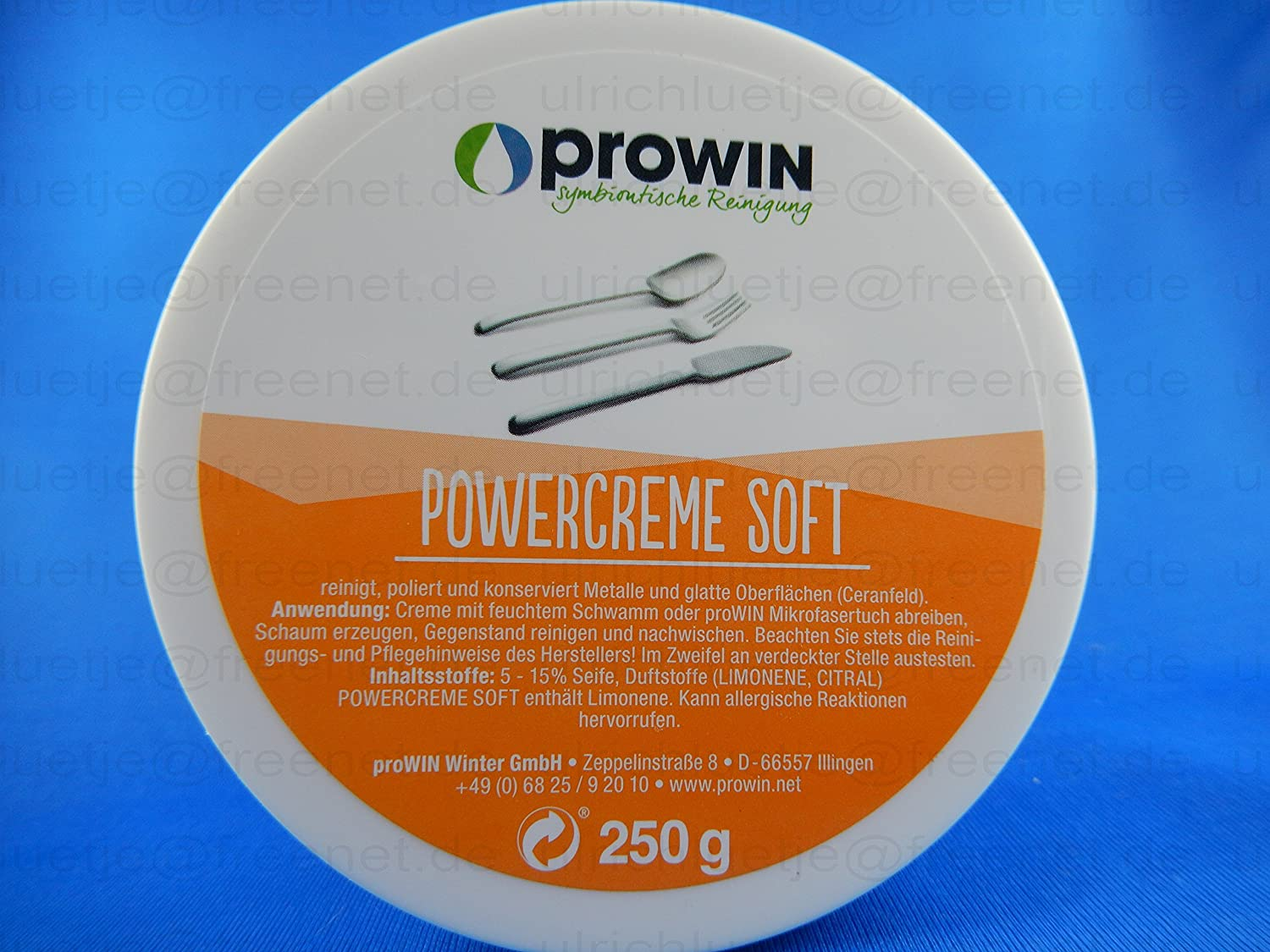 Prowin powercreme soft 250gr. dose: amazon.de: garten