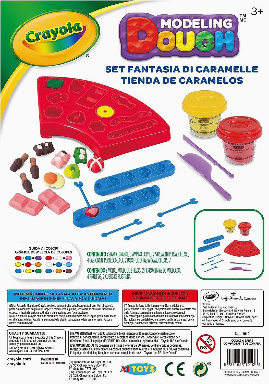 Amazon.com: Crayola Candy Shop Kit Dough Playset: Toys & Games