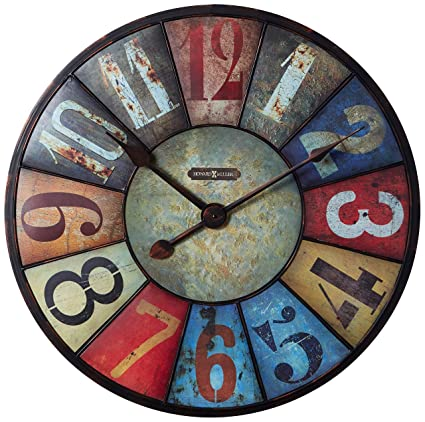 Amazon Com Howard Miller County Line Clock Home Kitchen