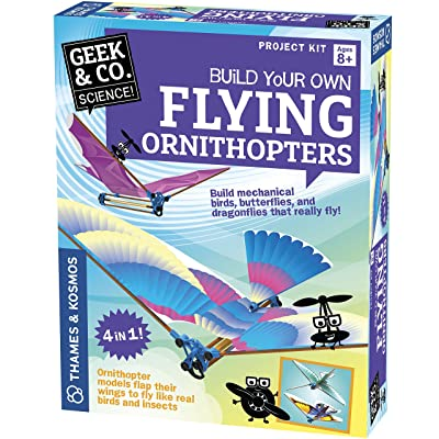 Geek & Co. Science! Flying Ornithopters Science Kit: Toys & Games