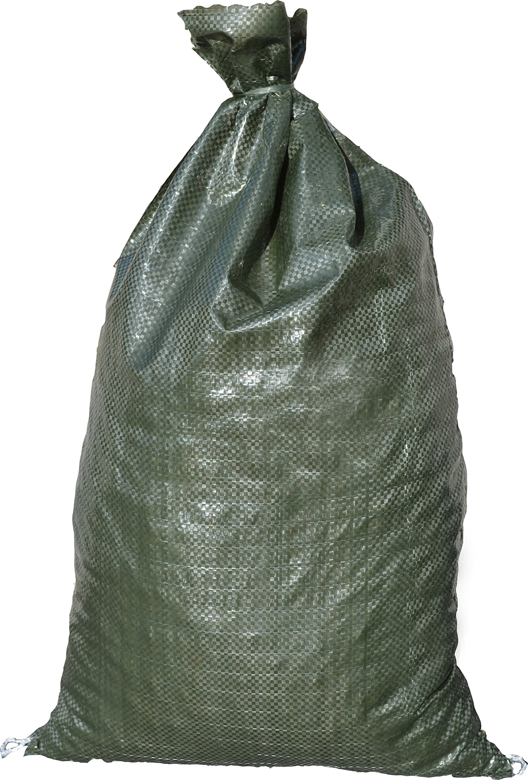 BEST PRICE 30 Green Sandbags --14x26 Sandbags For Sale Sandbag Bags Sand Bags by Sandbaggy