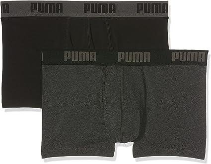 TALLA M. PUMA Basic Trunk 2P Boxer Pantalones Cortos
