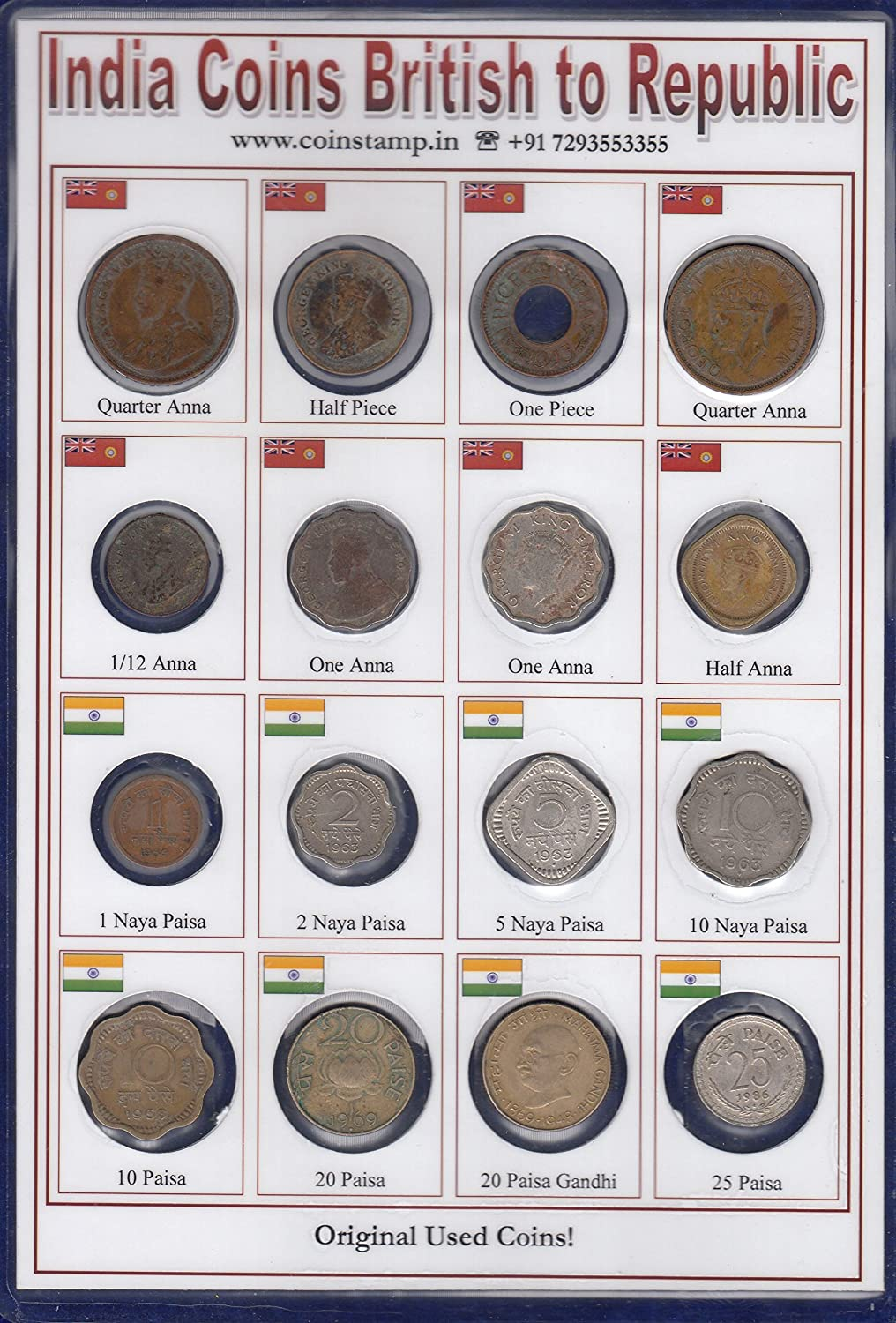 Sheet for coins of the People/'s Republic of China !! Sold without coins !!!