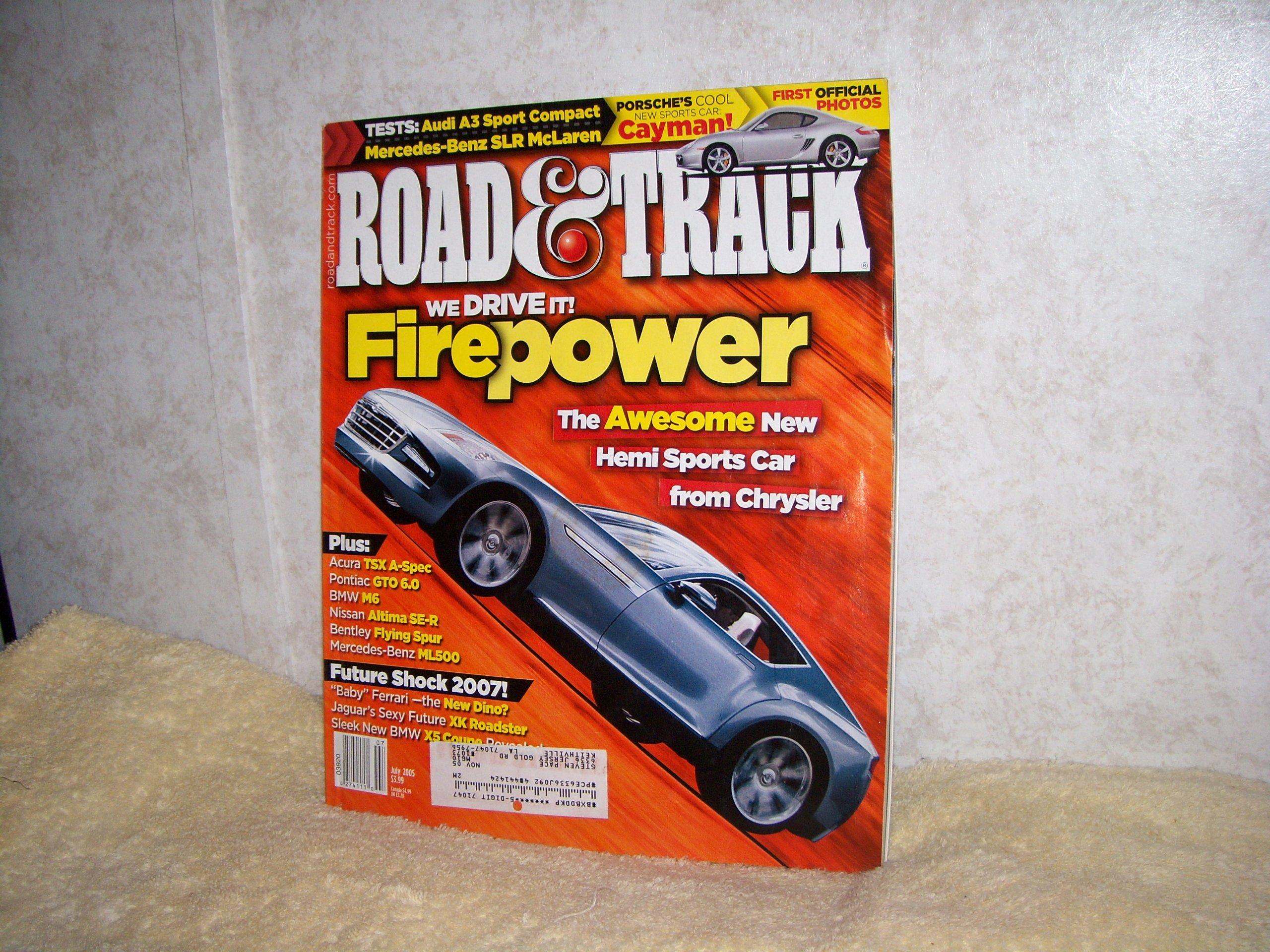 Read Online Road & Track Magazine JULY 2005 Vol. 56, No. 11 pdf epub