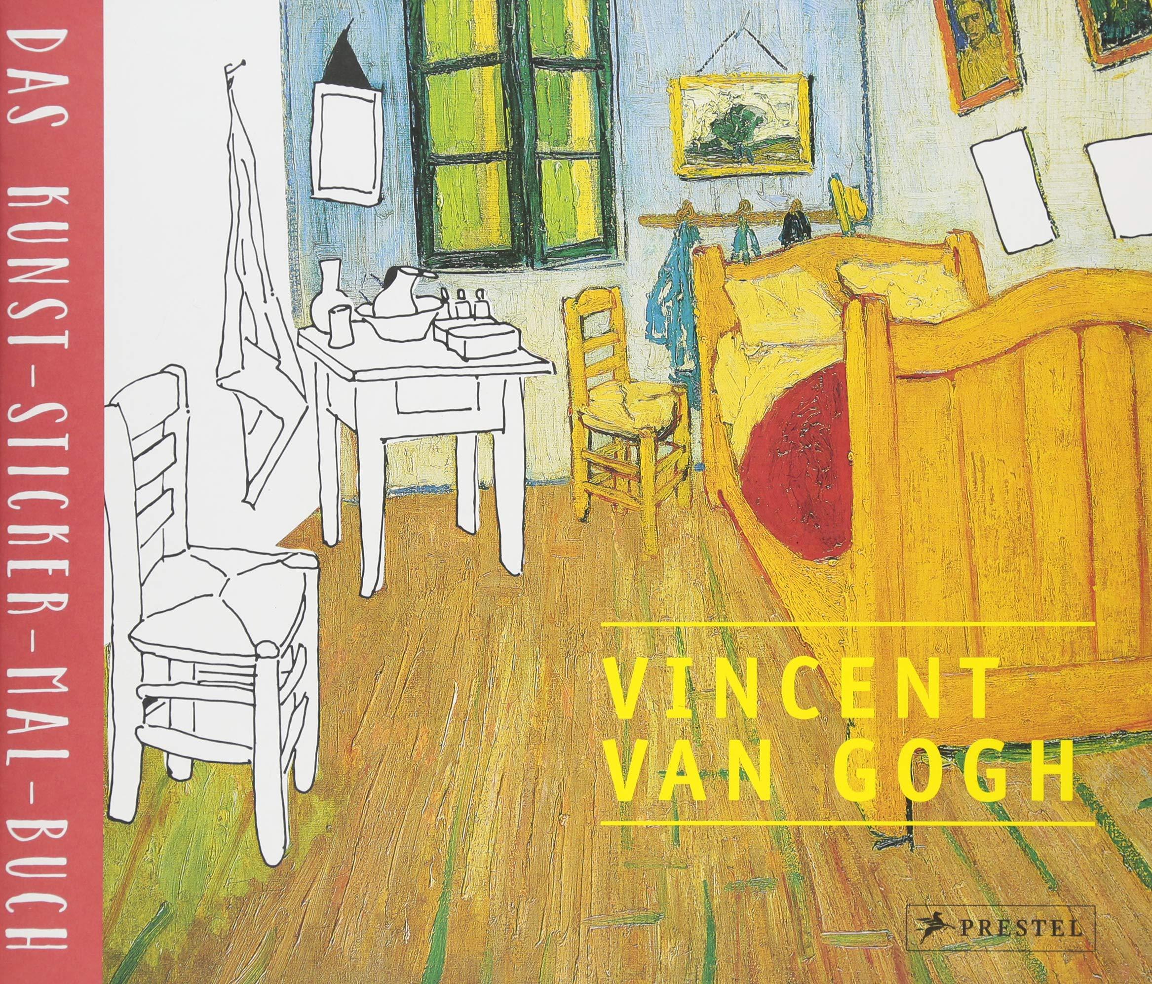 Vincent van Gogh: Das Kunst-Sticker-Mal-Buch