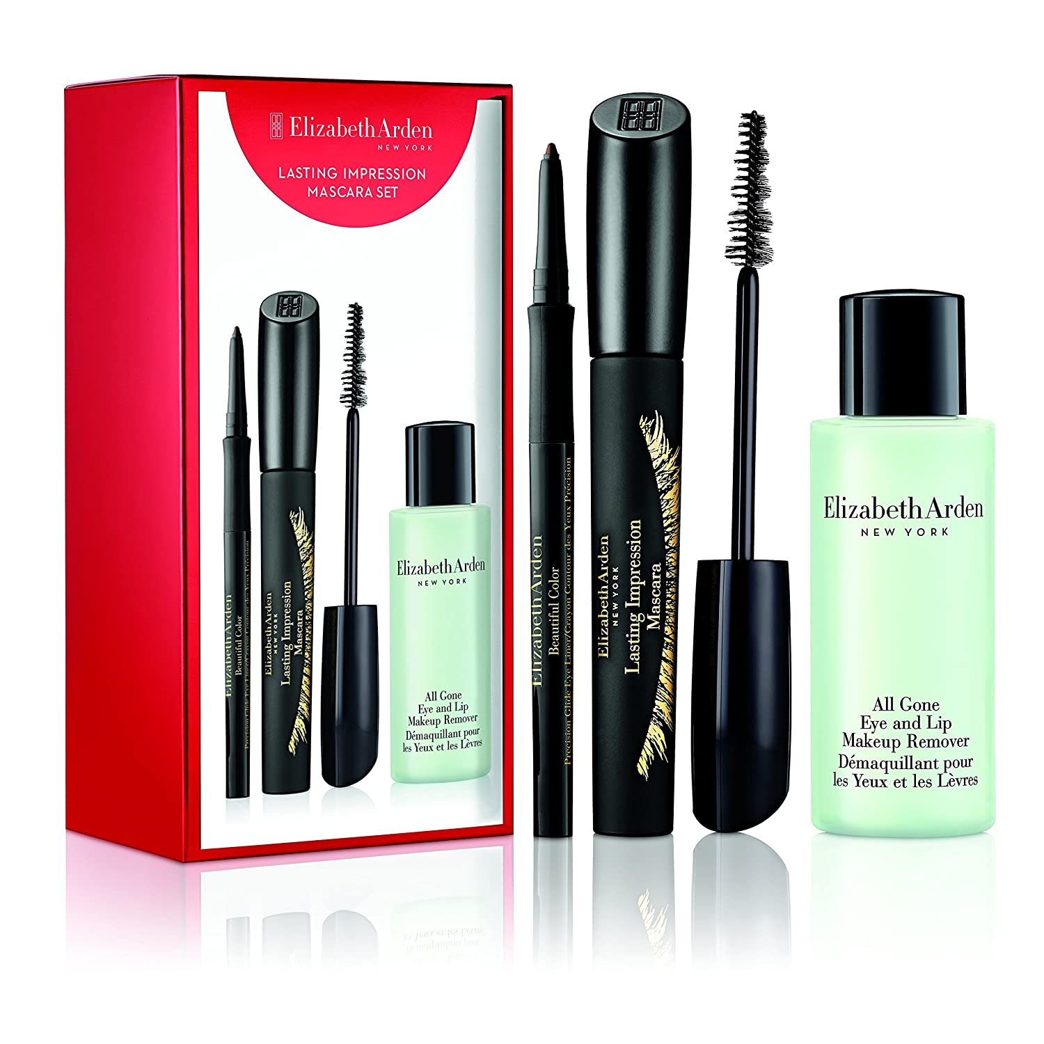 Amazon.com: Elizabeth Arden Lasting Impression Mascara Value Set: Luxury Beauty