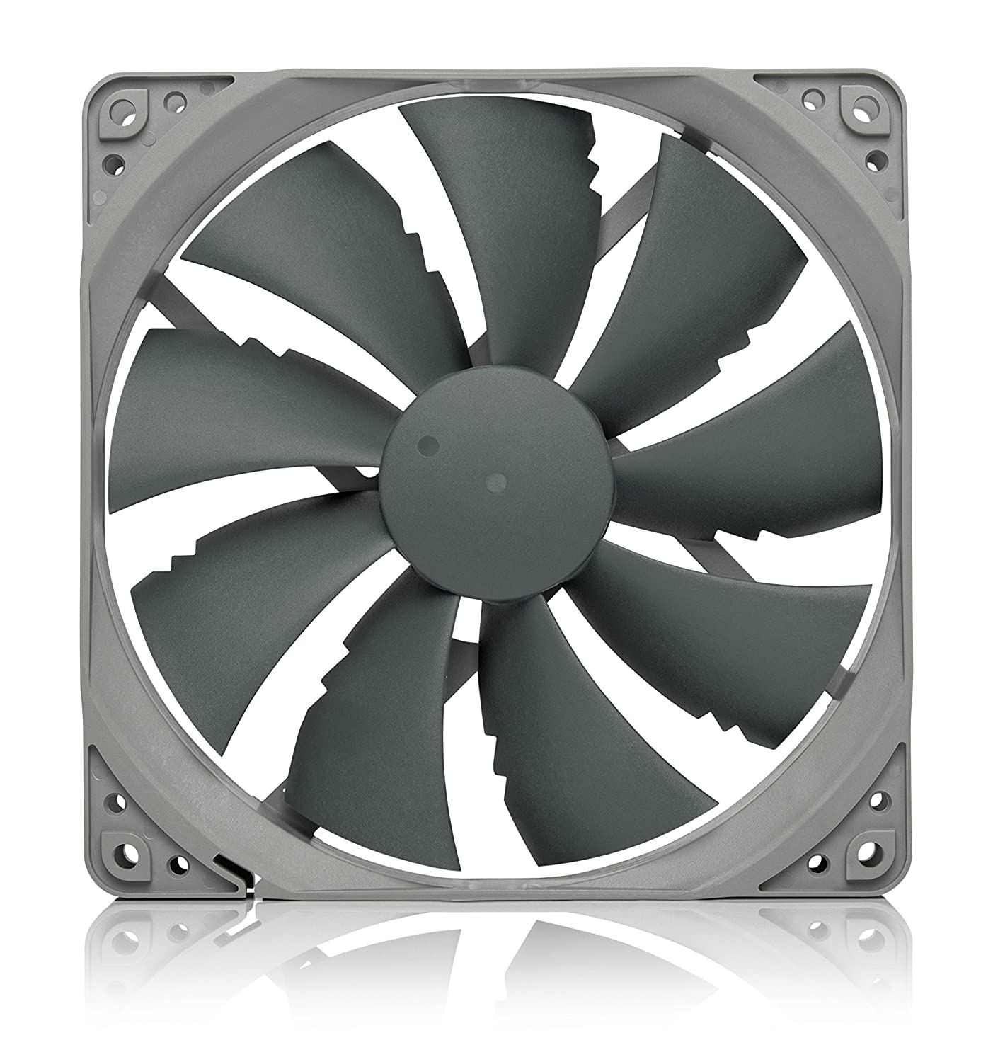 Noctua NF-P14s redux-1500 PWM, High Performance Cooling Fan, 4-Pin, 1500 RPM (140mm, Grey)