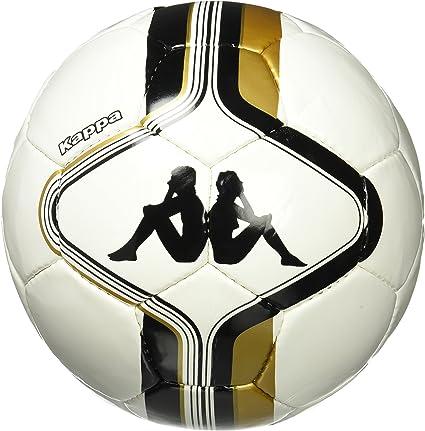 Kappa Ball Tiana - Balón de fútbol, Color Blanco/Negro/Oro, Talla ...