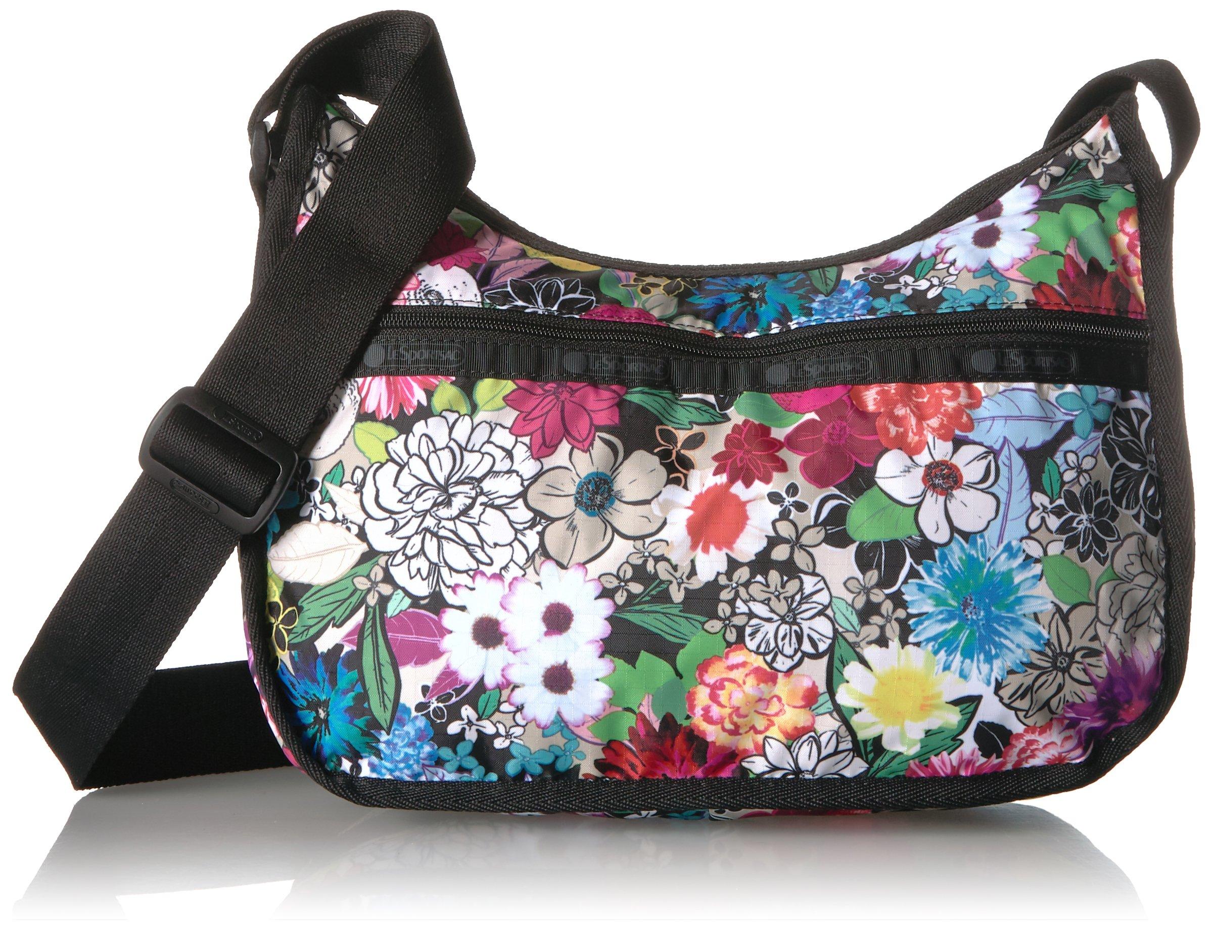 LeSportsac Classic Hobo Handbag, sunlight floral